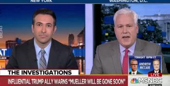 Matt Schlapp Acts Like A Fool On The Beat With Ari Melber