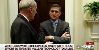 Mike Flynn Worked To Sell Nuclear Technology To Saudi Arabia