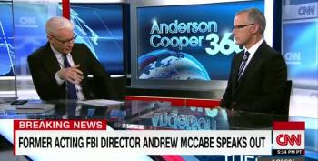 Andrew McCabe:  Trump Might Be Russian Asset