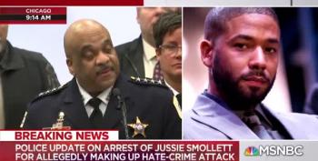 Actor Jussie Smollett Charged With Orchestrating His Own Attack