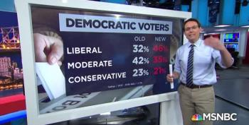 More Democrats Calling Themselves Liberal Per Gallup Poll