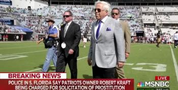 Robert Kraft Accused Of Soliciting Prostitutes Brought Here By Human Trafficking Ring