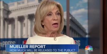 Andrea Mitchell: Mueller's Indictments 'Not Process Crimes'