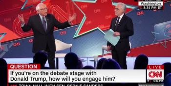 Bernie Sanders Has A Way To  Deal With Trump's Lies: 'Bring A Lie Detector Along'