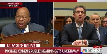Chairman Cummings: 'The Days Of This Committee Protecting President At All Costs Are Over'