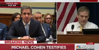 Michael Cohen Scolds Rep. Jordan For Misquoting His Remarks