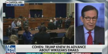 Even Fox News Can't Paper Over The Damage Cohen's Testimony Is Doing