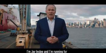 Jay Inslee Announces He'll Run On Climate Change