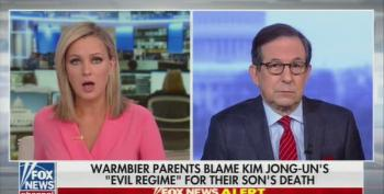 Chris Wallace Bashes Trump For Defending Kim Jong-un Over The Warmbier Family's Outrage