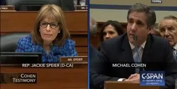 Rep. Speier Gets Over 100 Trump/Cohen Audio Tapes
