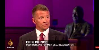 Erik Prince Hoisted By His Own Petard