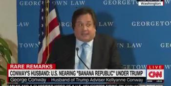 George Conway Smacks Trump In Public Speech