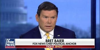 Fox's Bret Baier Whines About Democrats Ban Of Fox News From Primary Debates