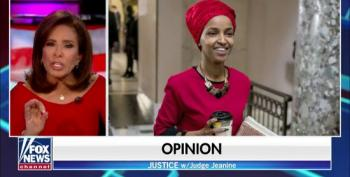 Jeanine Pirro Thinks Ilhan Omar's Hijab Is A Sign That She's Against The Constitution