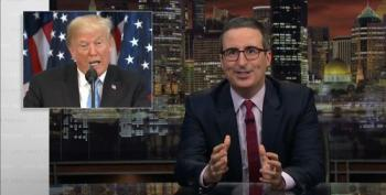 John Oliver Takes Us Through The Ways The 'Trump TV Show' Has 'Jumped The Shark For The 485th Time
