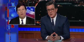 Stephen Colbert On Tucker Carlson: 'You're Awful On So Many Levels'