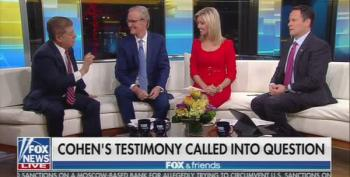 'Fox And Friends' Tried To Shake Judge Napolitano Into Denigrating Adam Schiff