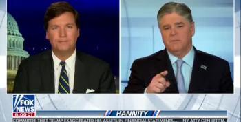 Hannity Puts Tucker On Vacation; Fox Denies