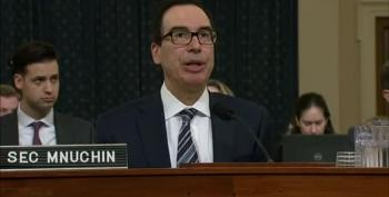 Steve Mnuchin Will Protect Trump's Taxes Until He Can't