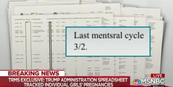 Maddow: Scott Lloyd Kept Track Of Migrant Girls' Menstrual Cycles To Block Abortions