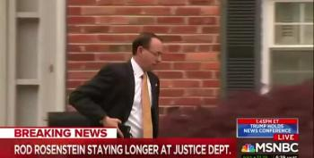 Rosenstein Staying 'Indefinitely' At Department Of Justice