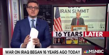 Chris Hayes Notes Iraq War Promoters Who Are Still In Power