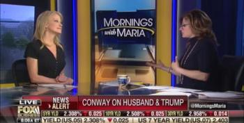 Kellyanne Conway Bashes Her Husband On Fox Business