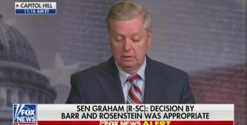 Trump Toady Lindsey Graham Snaps At Reporter