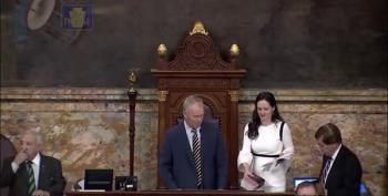 Bigoted Prayer At Pennsylvania State House