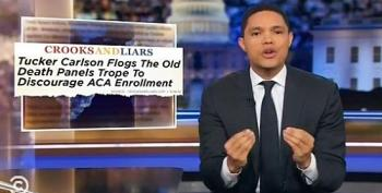 The Daily Show Gives C&L A Headline Shout Out