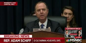 Republicans On Schiff's Intelligence Committee Demand His Resignation