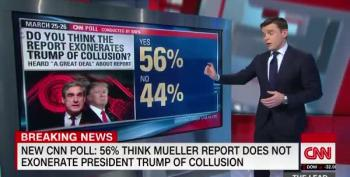 Mueller Report Yields No Bump For Trump In CNN Poll