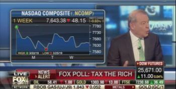 Stuart Varney Flips Out Over Fox Poll Results Wanting To Tax The Rich More