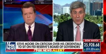 Fox's Neil Cavuto Lobs Softballs To Stephen Moore On $75,000 Tax Lien