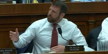 Rep. Mullin Tells Democratic Colleague To 'Shut Up' During Obamacare Hearing