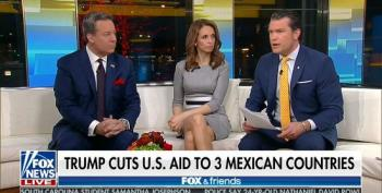 Fox Celebrates Trump Cutting Aid To '3 Mexican Countries'