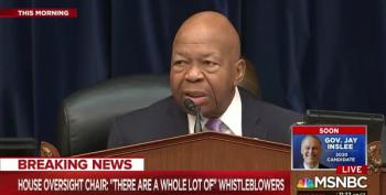 Rep. Elijah Cummings Smacks Rep. Jordan's Hypocrisy