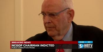 NC GOP Chairman Indicted On Federal Wire Fraud Charges