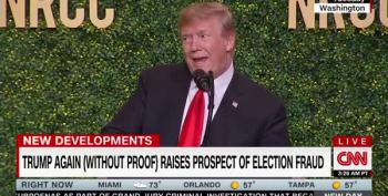 Trump Lays Foundation For Claiming 2020 Races Were Stolen By Dems
