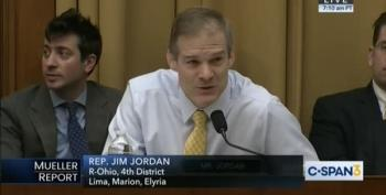 Rep. Jim Jordan Gets Called Out: Did You See The Mueller Report? 'No'