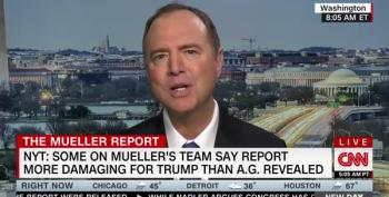 Adam Schiff On Mueller Report: 'All We Have Is Bill Barr's Word For This'