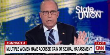 Larry Kudlow Refuses To 'Litigate' Sexual Harassment Allegations Against Herman Cain