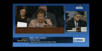 Rep. Nita Lowey's Opening Statement Laid Waste To Barr And The DOJ Budget