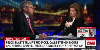 CNN Host Destroys Stephen Moore's Lie With Clips Of His Own Words