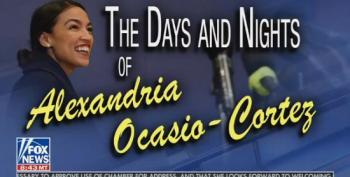 Six Weeks Of Fox's Alexandria Ocasio-Cortez Obsession