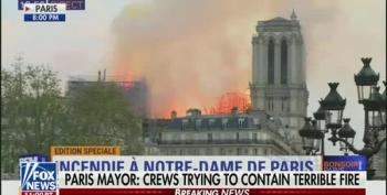 Shep Smith Sneers At Trump Tweet About Notre Dame