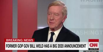 Bill Weld Steps Up To Primary Trump