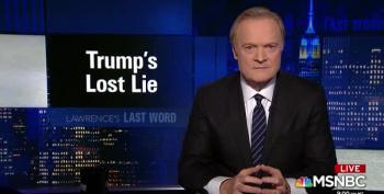 Lawrence O'Donnell Points Out The Worst Trump Lie — One The NYT Refuses To Acknowledge