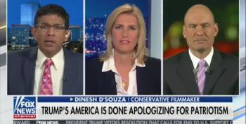 And By The Way What's That Thing In Dinesh D'Souza's Ear?