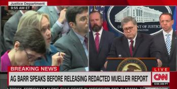 Reporters Grill AG Barr On His Warm Fuzzies Towards Trump